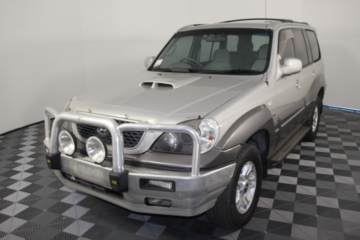 2006 Hyundai Terracan CRDi Turbo Diesel Automatic 7 Seats Wagon