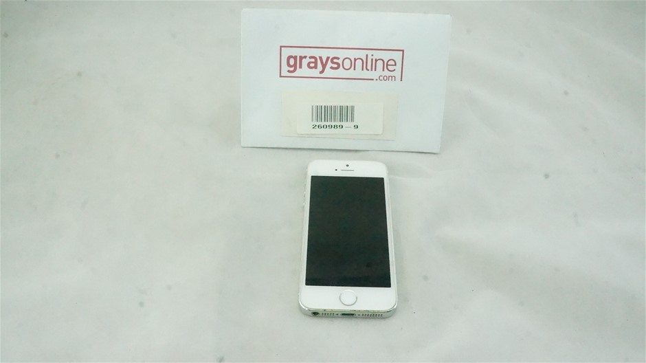 Apple iPhone 5S 32GB White Mobile Phone