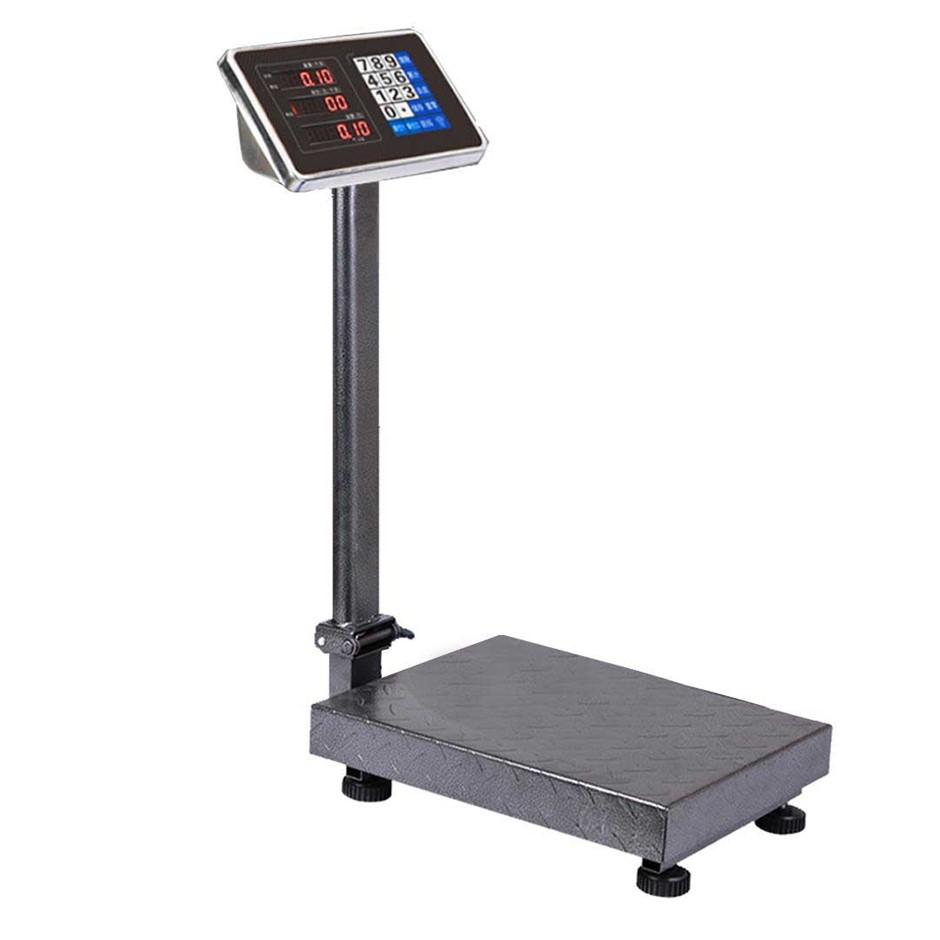 150kg Electronic Digital Platform Scale Postal Scales Weight Black