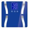 SOGA Digital Body Fat Scale Bathroom Scales LCD Electronic Blue