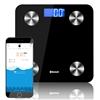 SOGA Wireless Bluetooth Digital Body Fat Scale Bathroom Weight Black