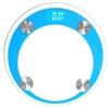 SOGA 180kg Dig. Fitness Wght Bathroom Gym Body Glass LCD Elec. Scales Blue
