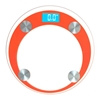 SOGA 180kg Dig. Fitness Wght Bathroom Gym Body Glass LCD Elec. Scale Orange