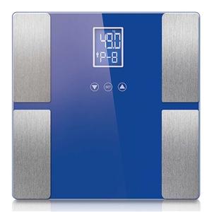 SOGA Blue Digital Body Fat Scale Bathroo
