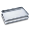 2 SOGA Aluminium Oven Baking Pan Cook Tray for Baker Gastronorm 60*40*5cm