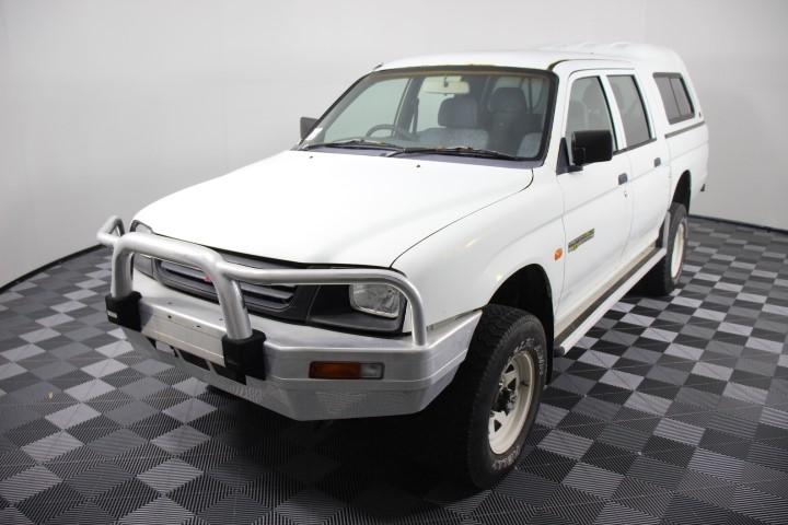 2000 Mitsubishi Triton GLX (4x4) Diesel Dual Cab, 134,165km (WOVR)
