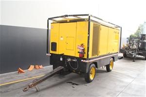 Mobile Air Compressor >> Atlas Copco 1050cfm Mobile Air Compressor Model Xas 495