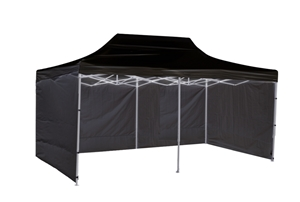 3x6m Popup Gazebo Party Tent Marquee Bla