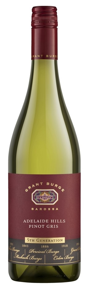 Grant Burge `5th Generation` Pinot Gris 2018 (6 x 750mL), Adelaide Hills.