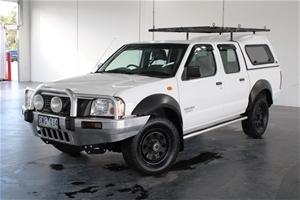 2004 Nissan Navara DX (4x4) D22 Turbo Di