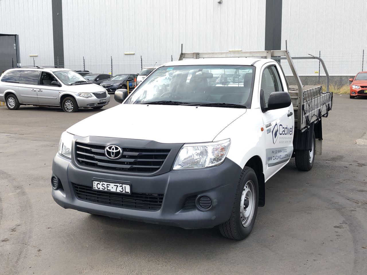 2014 Toyota Hilux Workmate TGN16R Manual Cab Chassis