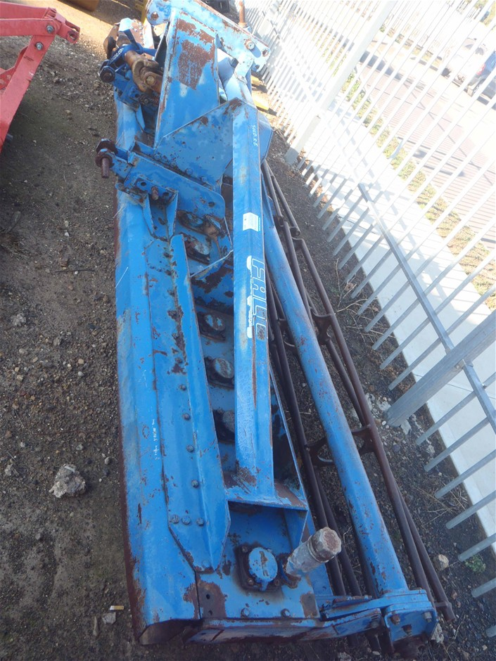 Falc 4M Power Harrow. Fitted with crumbler roller, good blades