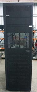 IBM 42U Rack Cabinet with 10 IBM Storwiz