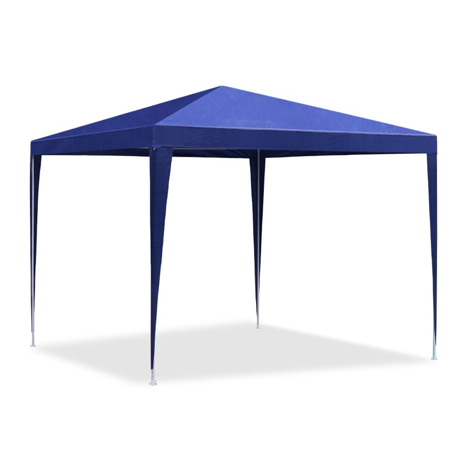 Instahut 3x3m Gazebo Tent Party Wedding Event Marquee Canopy Camping Blue