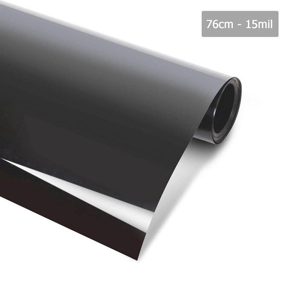 Giantz Window Tint Film Black Commercial Car Auto House Glass 76cm X 7m