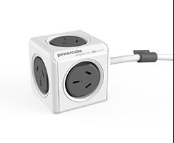 Allocacoc Extended PowerCube 4 Outlets w