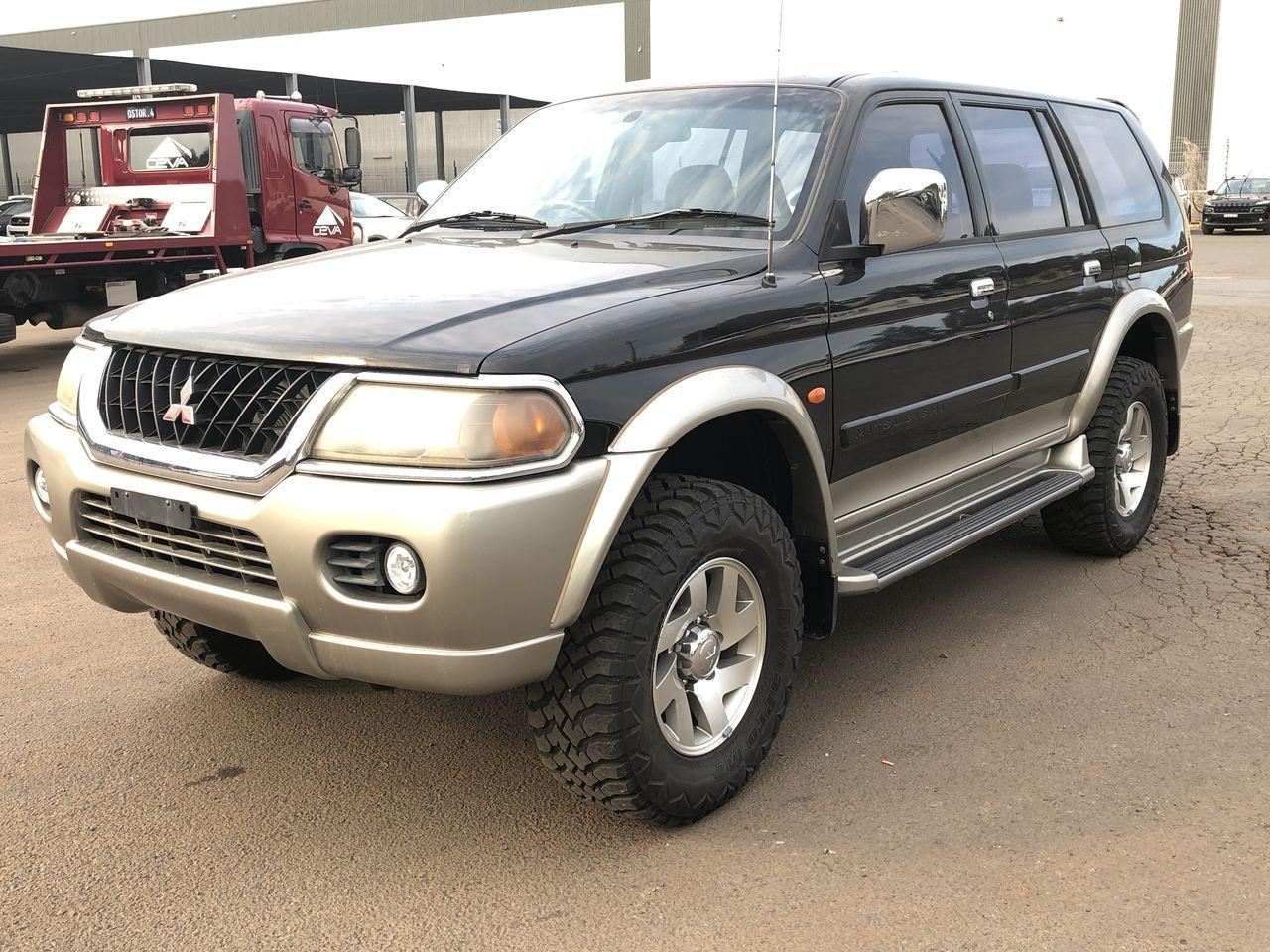 2002 Mitsubishi Challenger (4x4) PA Automatic Wagon