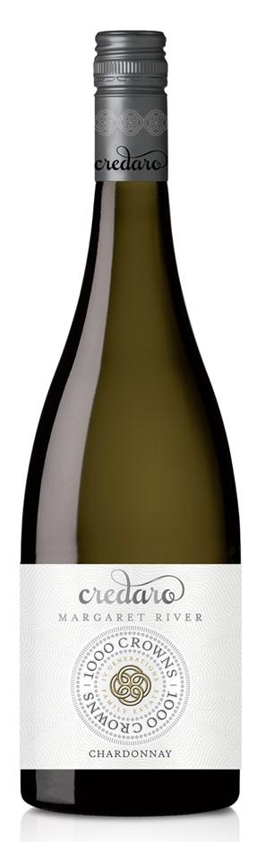 Credaro `1000 Crowns` Chardonnay 2016 (6 x 750mL), Margaret River, WA.