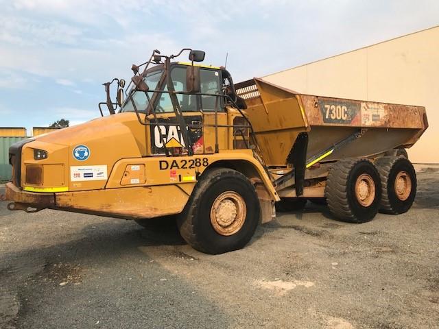 2016 Caterpillar 730C2 Articulated Dump Truck