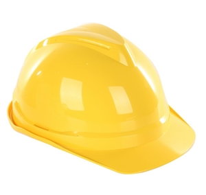 10 x MSA Hard Hats, Yellow. Buyers Note