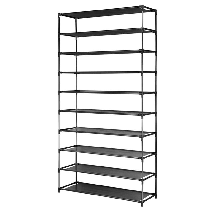 50 Pairs 10 Tier Shoe Rack Shelf Holder