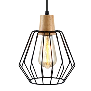 Artiss Wood Pendant Light Modern Ceiling