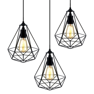 Artiss 3x Metal Pendant Light Modern Cei