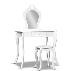 Artiss Kids Vanity Dressing Table Stool
