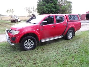 2010 Mitsubishi Triton Ute