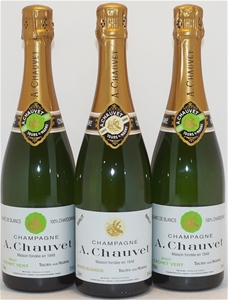 A.Chauvet Mixed Champagne Pack (3x 750ml