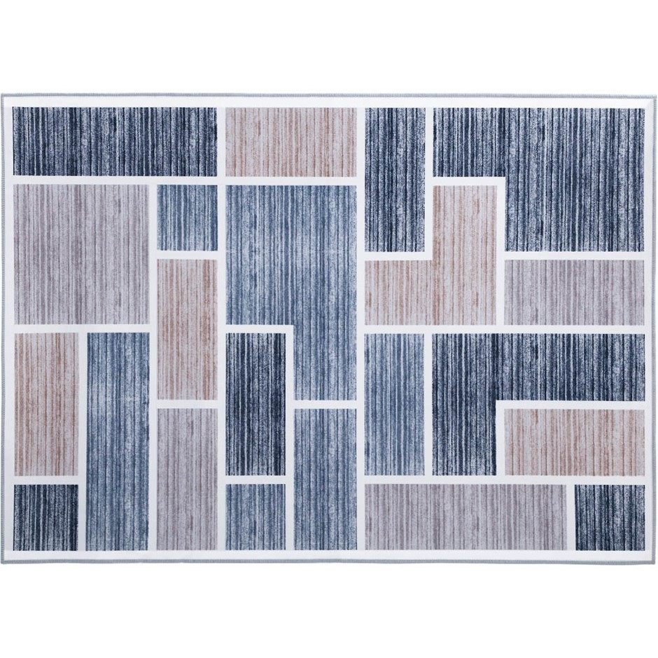 Artiss Short Pile Floor Rug 200x290 Area Rugs Large Modern Carpet Soft Grey