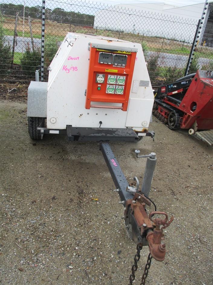 Mobile Diesel Powered Generator