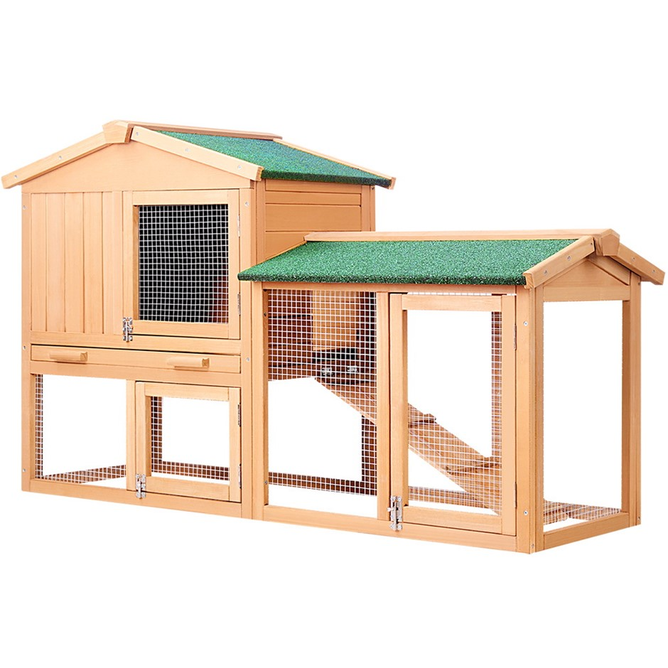 i.Pet 138cm Tall Wooden Pet Coop