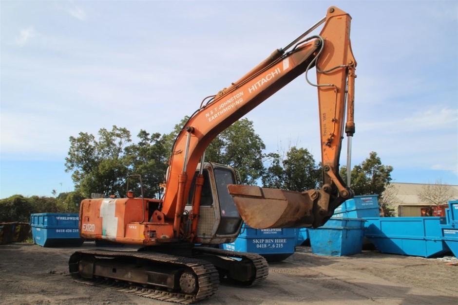 Hitachi EX120-2 Super 12 ton Excavator
