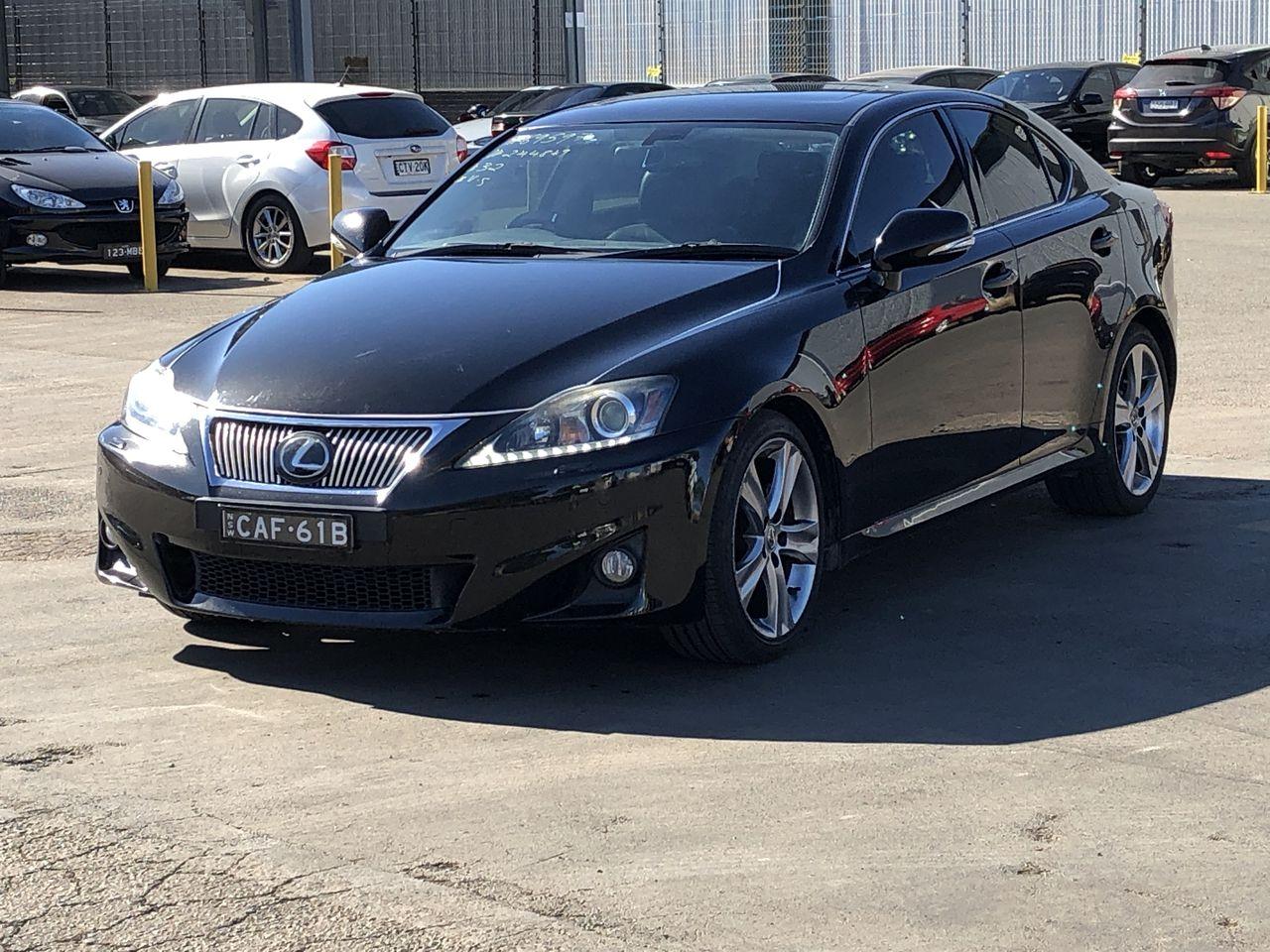 2012 Lexus IS250 Luxury Sports Auto Sedan 119,600kms