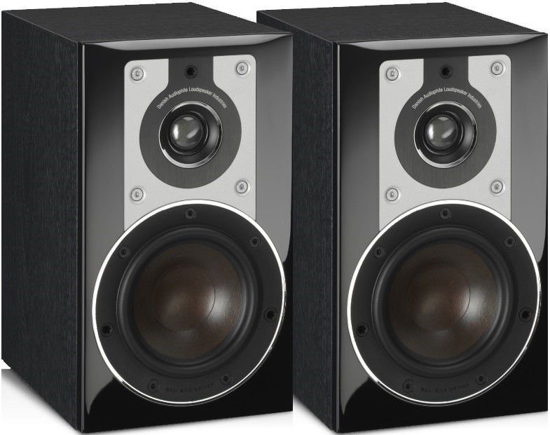 Dali Opticon 1 Stand-Mount Speakers (Pair) (Black)