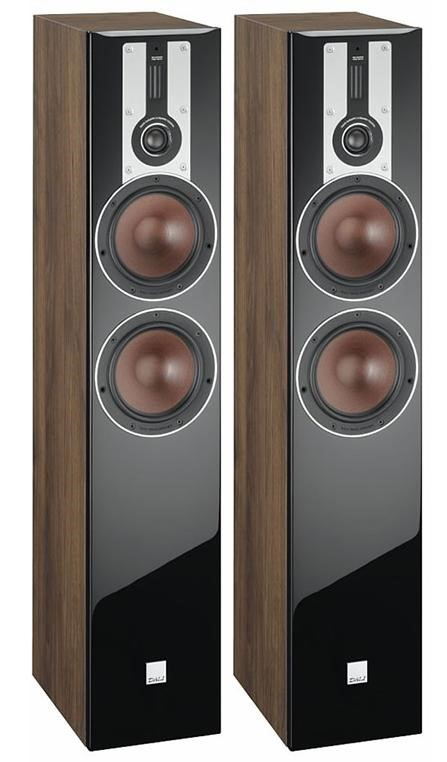 Dali Opticon 6 Floor Standing Speakers (Pair) (Walnut)