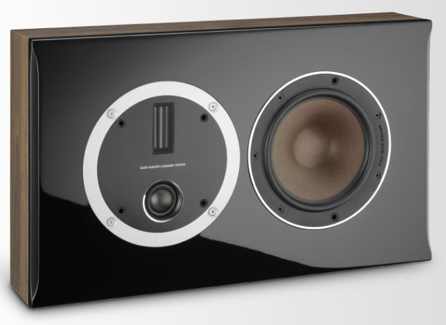 Dali Opticon LCR Wall-Mount Speaker (Walnut)