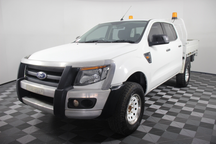 2012 (2013) Ford Ranger XL PX Turbo Diesel Auto Dual Cab Chassis