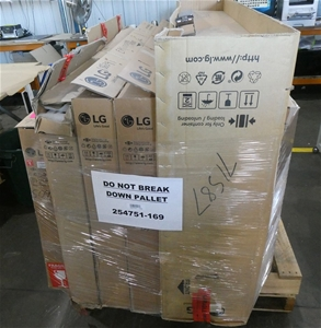 Pallet of Assorted Brand USED/UNTESTED T