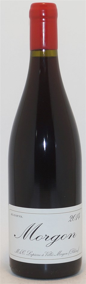 M&C Lapierre `Villie Morgon (Rhone)` Morgon 2014 (5x 750ml), Burgundy