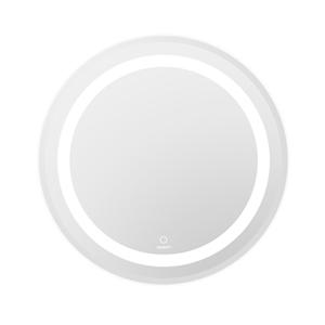 Devanti Round Wall Bathroom Makeup Mirro
