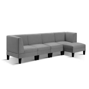 Artiss 5 Seater Sofa Bed Set Modular Lou