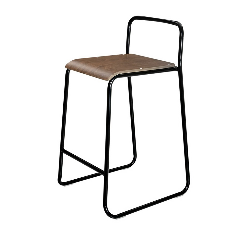 Artiss 2x Industrial Rustic Bar stools Vintage Bar Stool Wooden Kitchen