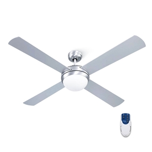 "Devanti 52"" 1300mm Ceiling Fan Brushed A"