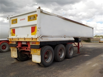 2011 Freightmaster ST3 Triaxle Tipper Trailer