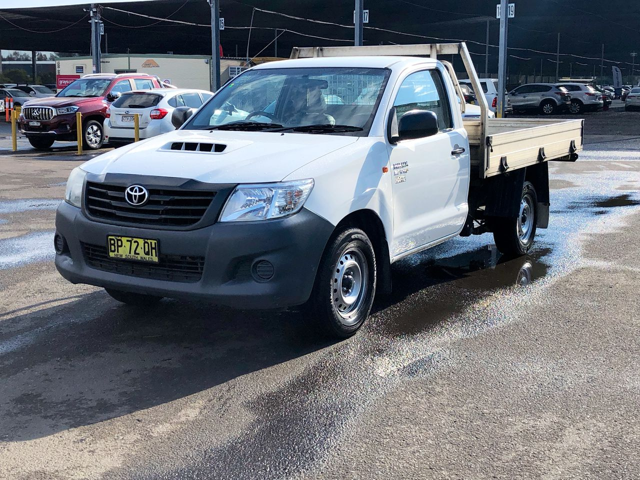 2012 Toyota Hilux 4X2 WORKMATE KUN16R Turbo Diesel Manual Cab Chassis