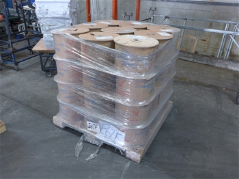 A Pallet OF 45 Rolls RG6 Tri-shield Cable Flooded 305M
