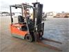 2002 Toyota 5FBE18 3 Wheel Counterbalance Forklift