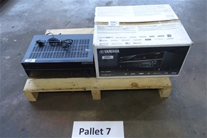 Pallet of Assorted USED/UNTESTED Yamaha